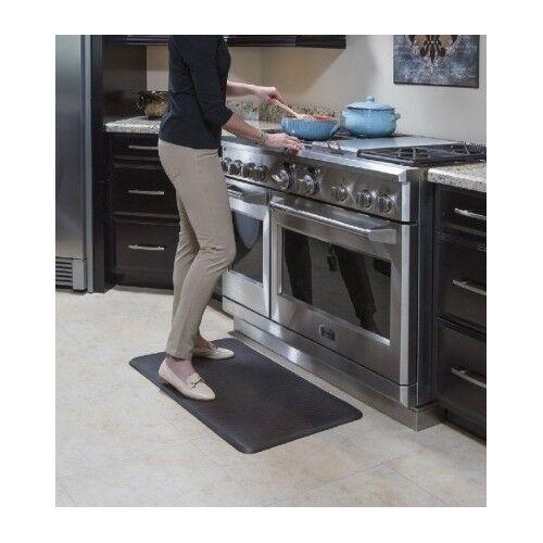Door Mats Floor Mats Imprint Nantucket Anti Fatigue Comfort Mat Black 26 X 72 Kitchen Relief Salon Gronn Com Br