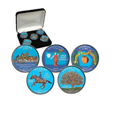 1999 Colorized US Mint State Quarters Set in Gift Box - Statehood Quarters -