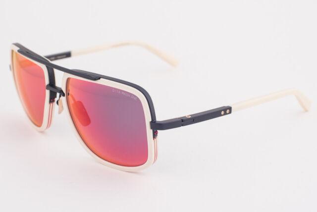 34ec91f37a5 DITA MACH ONE Bone   Red Flash Mirrored Sunglasses DRX-2030-K 59mm 2030