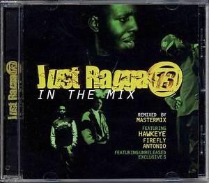Music-CD-Dancehall-Just-Ragga-Reggae-Mixed-DJ-Master-Mix-Various-Sealed-Album