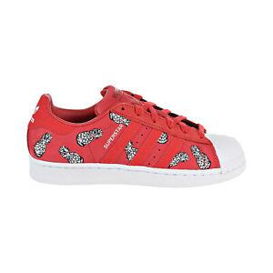 Red unworn 70/'s suede lady/'s shoes scarlet