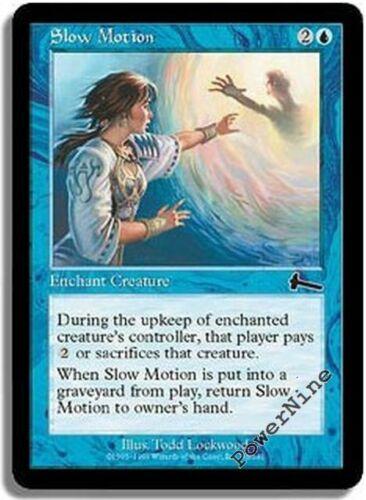 1 FOIL Slow Motion Blue Urza/'s Legacy Mtg Magic Common 1x x1