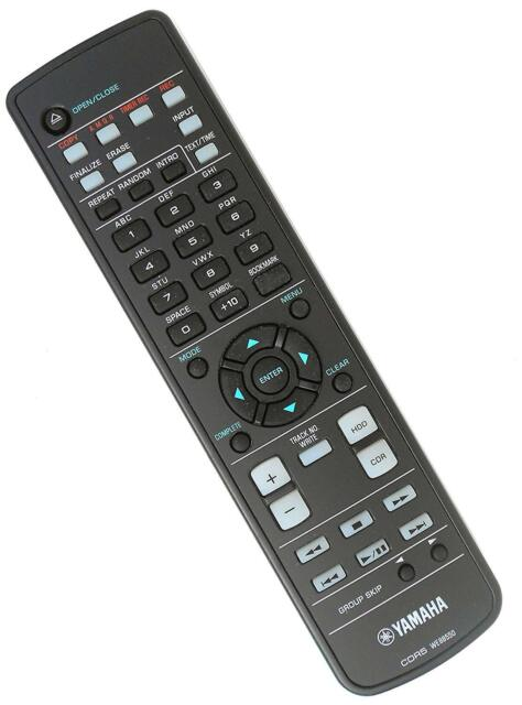 YAMAHA CDR5 CDR3 CDR4 CDR-HD1500 REMOTE CONTROL WE88550 CDR-HD1000 CDR-HD1300