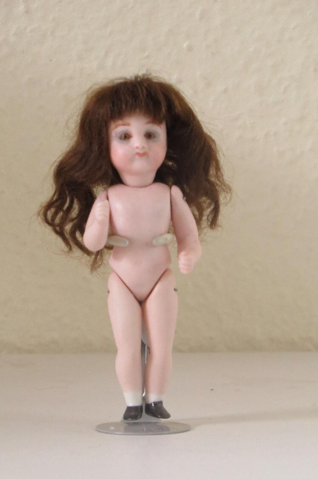 Doll Mignonnette Poupée Repro A  13  : Gigi   Kestner  10 cm
