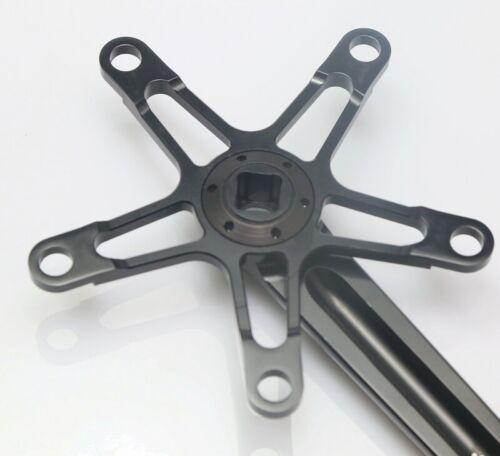 Aceoffix Bike Crankset Bicycle Square Crank Arm For Brompton Dahon BCD 130mm