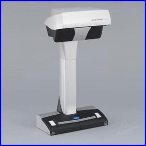 Fujitsu-Scansnap-SV-600-Dokumentenscanner-WIN-MAC-Buch-u-Overheadscanner