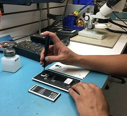 Cell phone repairs at affordable price;