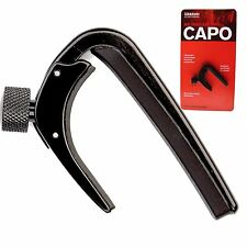 Planet Waves NS Pro Capo for Electric or Acoustic Guitar - Black
