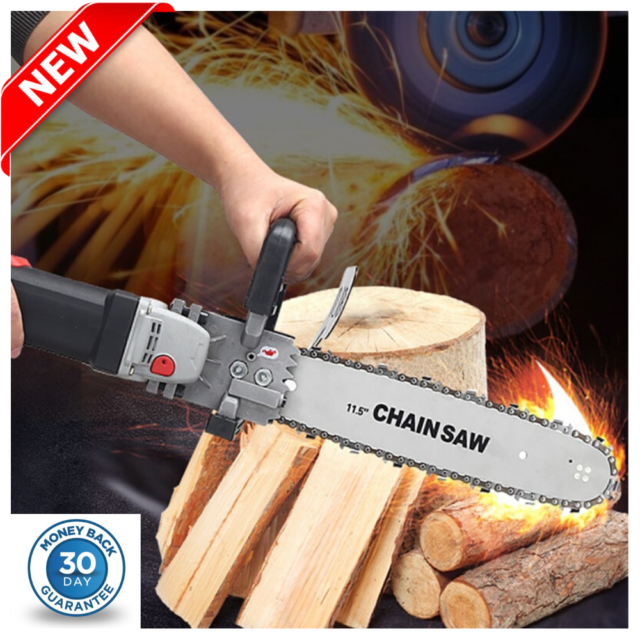 Portable Logging Electric Chain Saw Multi-Function Cutting Chain Saw For Forest