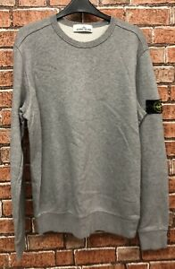STONE-ISLAND-Grey-sweatshirt-jumper-Size-Medium