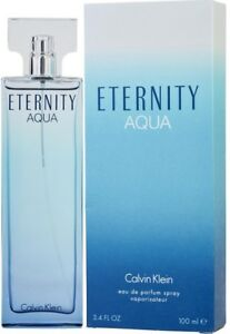 Eternity Aqua By Calvin Klein Eau De Parfum Spray 34 Oz