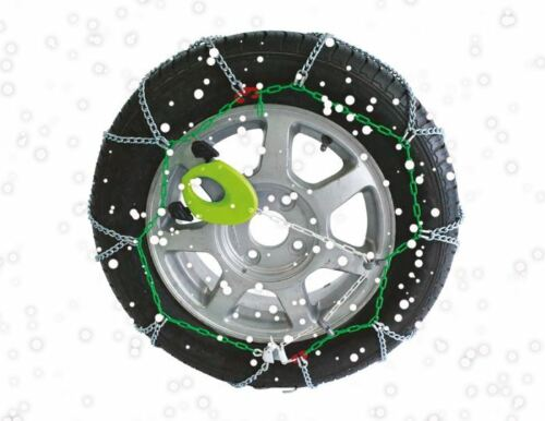 "16mm Heavy Duty Snow Chain 18/"" Wheels 4x4 Van Car Motorhome 245//45-18R 18 TXRPRO"