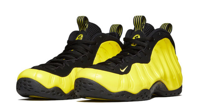 official photos e056c 083b0 Nike Air Foamposite One Wu Tang Opti Yellow Black 314996 706