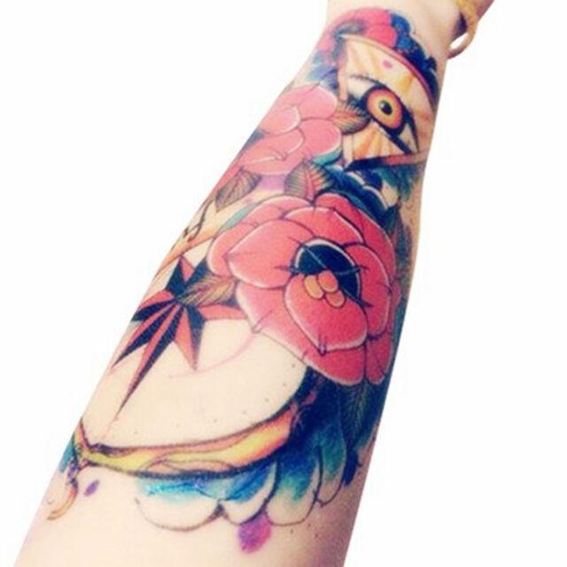 Body Art Makeup Triangle Eyes Tattoo Waterproof Temporary Tattoo Stickers