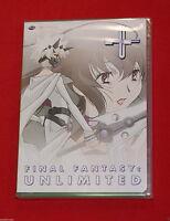 Final Fantasy: Unlimited - Phase 4 (dvd, 2004) Gonzo Cgi Anime Brand