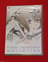 Final Fantasy: Unlimited - Phase 4 (dvd, 2004) Gonzo Cgi Anime Brand