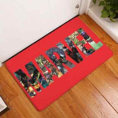 Marvel Avengers Superhero Kids Non Slip Bedroom Bathroom Floor Rug Door Mat Door Mats Floor Mats Home Garden