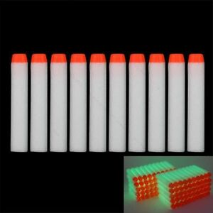 Glow-100pcs-7-2cm-Refill-Bullet-Darts-for-Nerf-toy-Gun-N-strike-Elite-Series