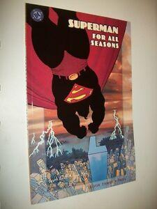 LOEB-SALE-SUPERMAN-FOR-ALL-SEASONS-BOOK-THREE-FALL-HANSEN-DC-COMICS-1998-OTTIMO