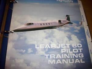 learjet 60 pilot training manual ebay rh ebay ie learjet 35 pilot manual learjet 31a pilot's manual