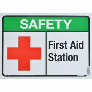 OSHA EMERGENCY Sign First Aid Station�Made in the USA