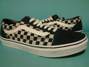 7478c929c76587 DS 2017 VANS OLD SKOOL V36CL INDIGO NAVY   WHITE   CHECKER JAPAN ...