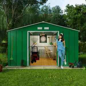 8x10 metal shed billyoh outdoor storage unit base option for Garden shed tab