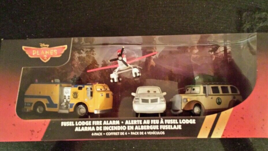 Planes 2-Fire and Rescue Fusel Lodge Fire Alarm Pulaski Cad Spinner Ol'Jammer