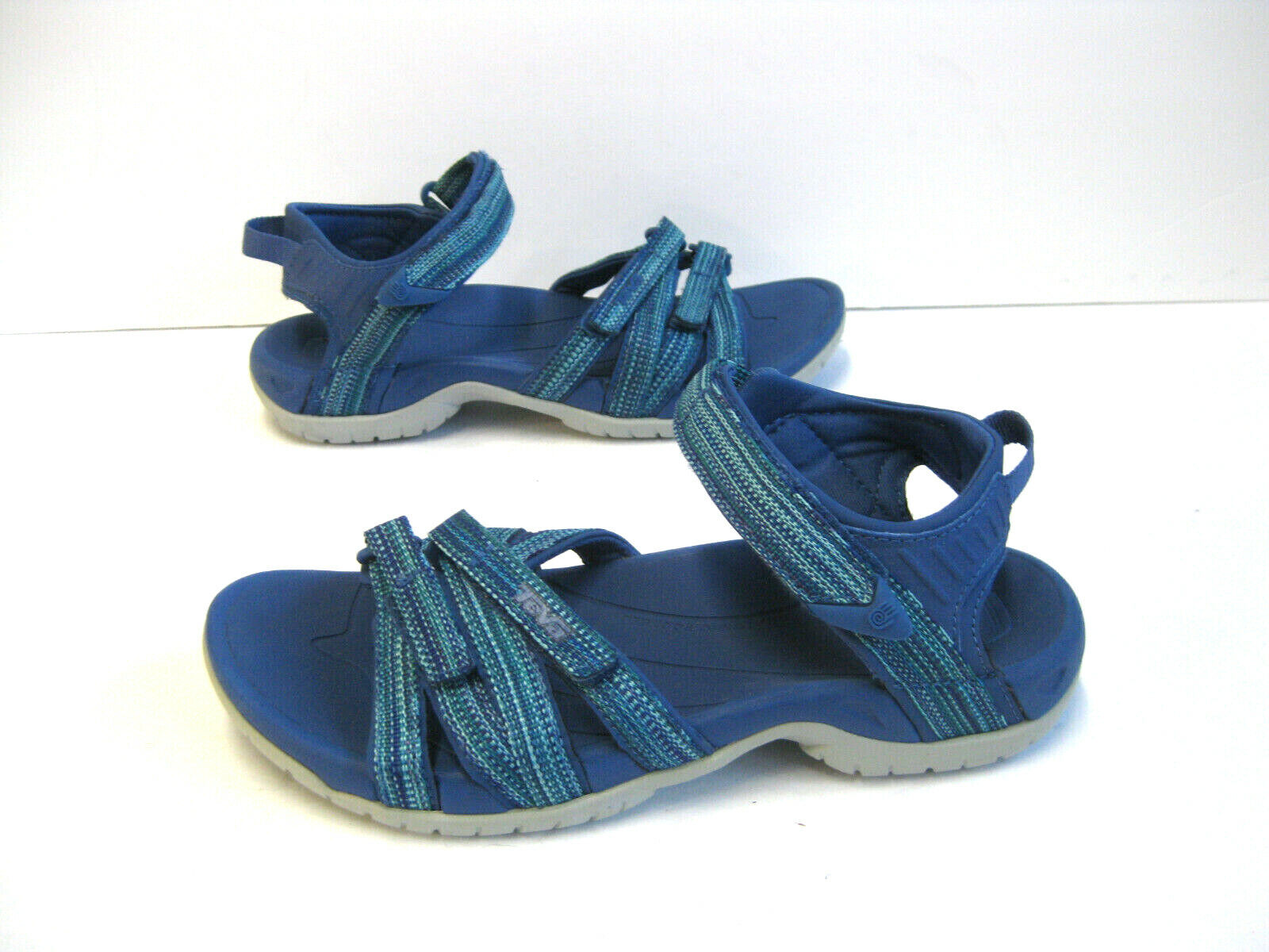 TEVA TIRRA WOMEN SPORT SANDALS GALAXY blueE blueE blueE MUITI US 7  UK 5  EU 38  JP 24 654393