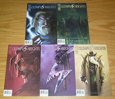 Olympus Heights #1-5 VF/NM complete series - gods of olympus vs hades 2 3 4 set