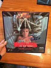 Robert Englund Freddy Krueger Signed A Nightmare On Elm Street Laserdisc Rare