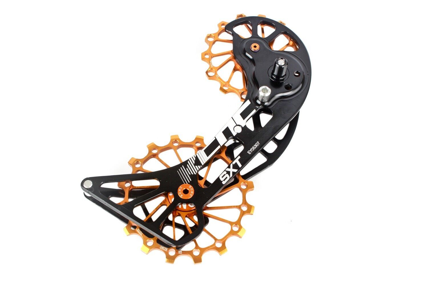 KCNC SXT MTB Cycling Bike Oversized Pulley Cage for  Shimano M9000 M8000 gold  buy cheap