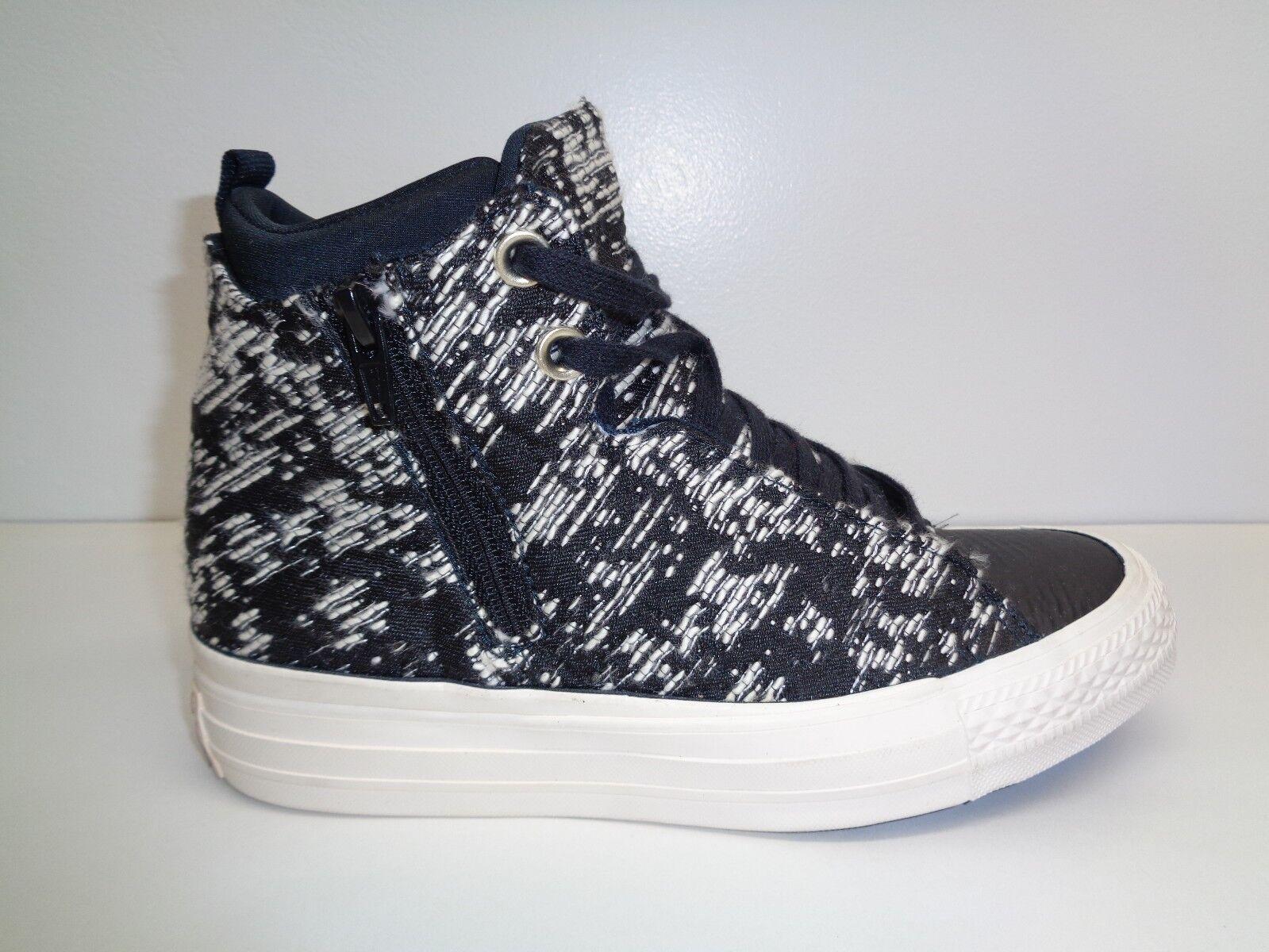 Converse Größe 8 SELENE WINTER Sneakers KNIT Weiß High Top Sneakers WINTER New Damenschuhe Schuhes a91b92