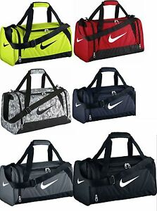 d7a97de0d Nike Brasilia 6 Small Duffel Gym Bag Grip BA4831/4910 Black Red Volt ...