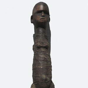 an old antique african mummy figure tanzania #15