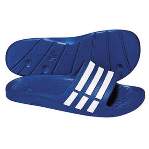 6fed97187 adidas Adilette Duramo Slide Bath Shoes Bath Slippers to Size. 55 UK 18  G14309 Blue - White for sale online