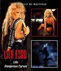 Lita/Dangerous Curves * by Lita Ford (CD, Nov-2013, 2 Discs, Beat Goes On)