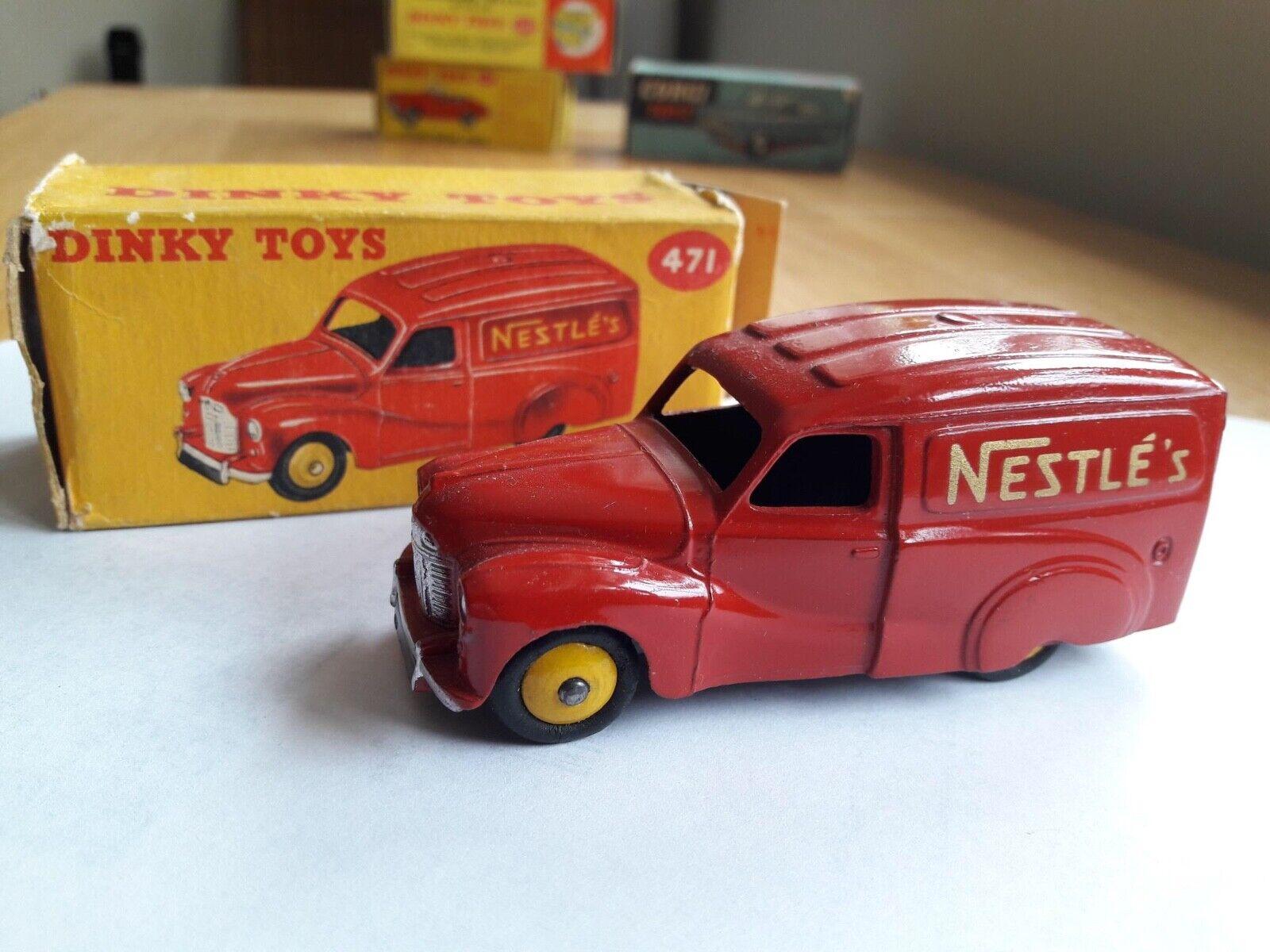 DINKY TOYS Austin A 40 Devon Van Nestle Exceptional