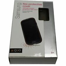OEM T-MOBILE D3O SAMSUNG Galaxy S3 FLEX PROTECTIVE Case Cover GREY