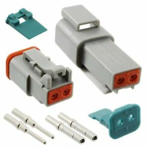 Amphenol Connettori Impermeabili Set Presa Spina 2-pin ip69k at 16-18awg