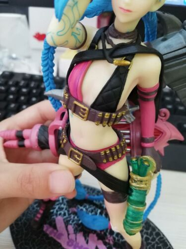 LOL League of Legends Jinx Statue Collective Action Figure In Box High Quality