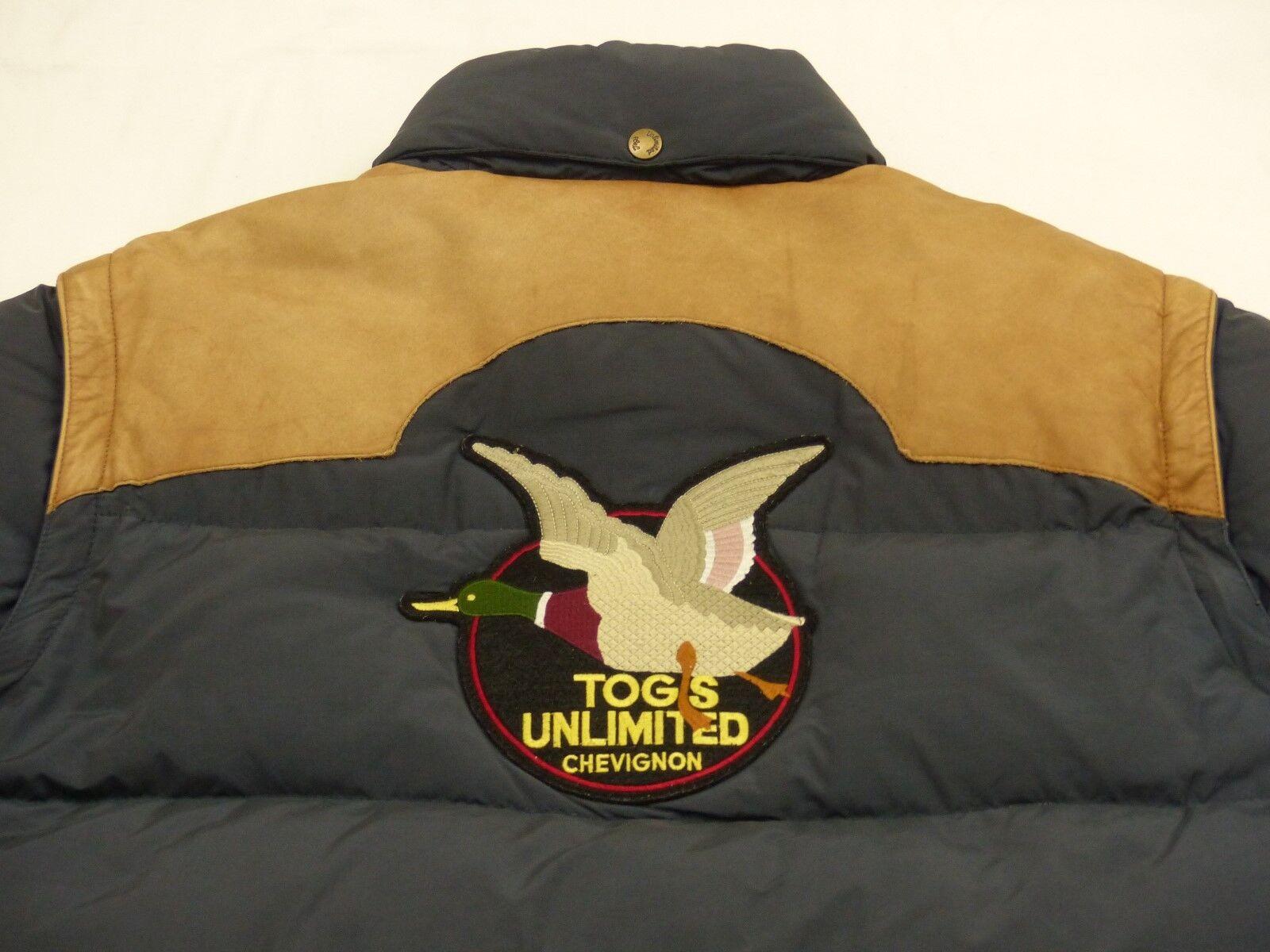 Chevignon Winter Down Jacket Vest TOG Korlátlan Vintage Blue Méret: XL