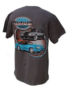 FORD MUSTANG FOX BODY SHIRT WITH FOUR EYES AND 1993. SOLD EXCLUSIVELY HERE