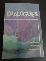 Dialogues An Argument Rhetoic And Reader Book 2003 Sealed + Bonus Free Ship