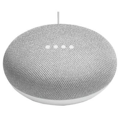 Google Home Mini Smart Speaker, Chalk - GOOGLE