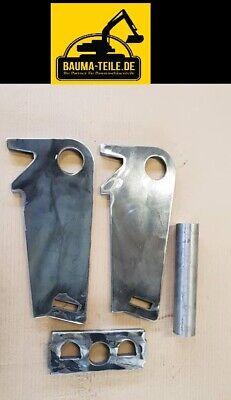 Baumaschinenteile & Zubehör Baugewerbe FäHig *bausatz* Schnellwechselrahmen Anschweißrahmen Bagger Ms03 Sw03 Tragnasen