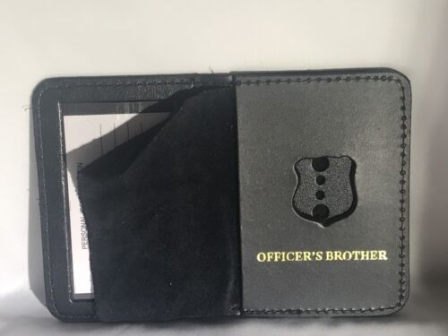 2018 New York City Police Officer Mini Shield Officer  Brother bi-fold Wallet