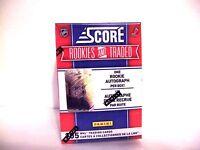 2010-11 2011 Score Rookies And Traded Hockey Box AUTO Hobby FREE SHIP Autograph