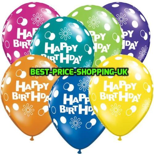 "12/""-14/"" HAPPY BIRTHDAY BALLOONS HELLIUM  /& BALLONS QUALITY Party Wedding Baloons"