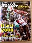 MOTOSPRINT Speciale All. n°44 2007 Fuoristrada Test delle Cross 2008 Ton [P52]